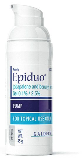 Epiduo Acne Prescription Acne Treatment Facial Skin Care