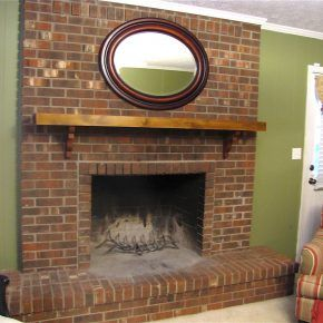 Red Brick Fireplace Makeover Ideas Brick Fireplace Makeover Red Brick Fireplaces Fireplace Makeover