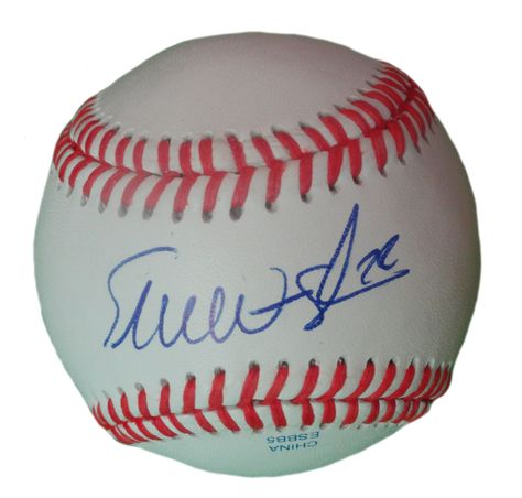 Baltimore Orioles Eli Whiteside signed Rawlings ROLB leather Baseball w/ proof photo.  Proof photo of Eli signing will be included with your purchase along with a COA issued from Southwestconnection-Memorabilia, guaranteeing the item to pass authentication services from PSA/DNA or JSA. Free USPS shipping. www.AutographedwithProof.com is your one stop for autographed collectibles from Baltimore sports teams. Check back with us often, as we are always obtaining new items.