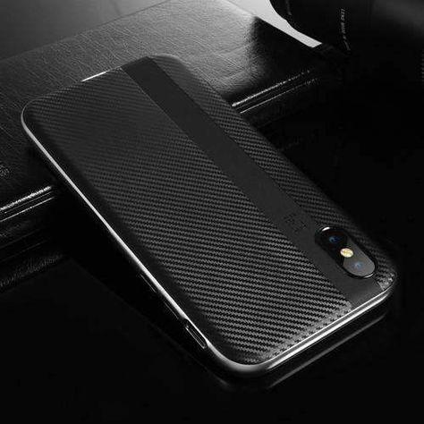coque iphone x slim carbone