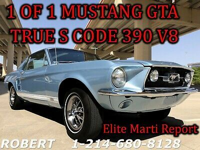 Details About 1967 Ford Mustang Gt 390 Gta Big Block 1 Of 1 Deluxe