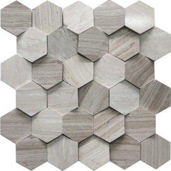 Mosaique Mur Hexagone Cottage Beige Leroy Merlin Carrelage Salle De Bain Carrelage Hexagonal Hexagones