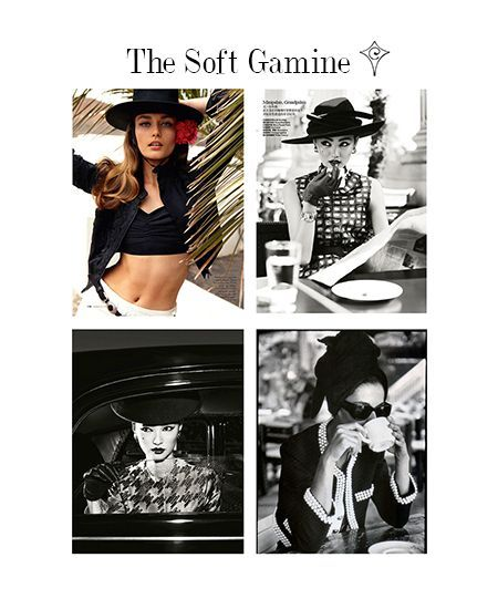 Image result for soft gamine | Image ID | Soft gamine