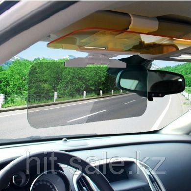 New Hot Car Sunshade Day Night Sun Visor Mirror Anti-Dazzle Clip-On Shield