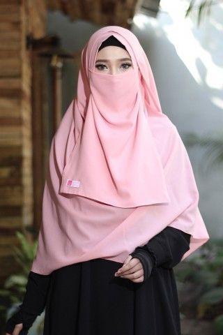 Pashmina Instan Azmia Salem Anizah Khimar Pashmina Fashion Hijab