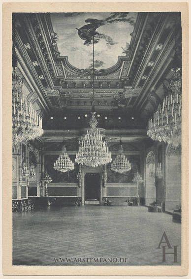 Dresden Residenzschloss Grosser Ballsaal Nach W Dresden Bilder Schloss