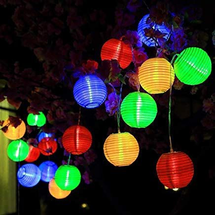 Led Solar Lichterkette Lampions Aled Light Ip65 Wasserdicht 20er Led Lampions Laterne Lichterkette Garten Innen U Lichterkette Led Lampions Lichterkette Garten