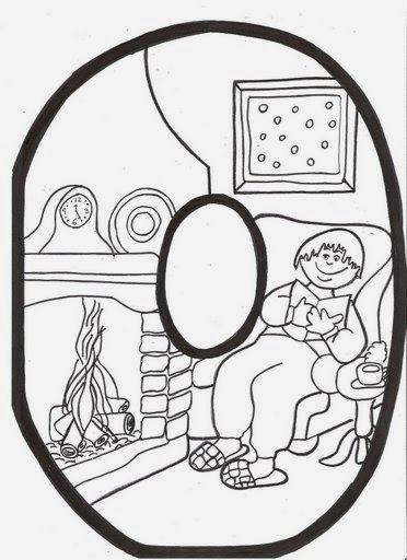 Letras De Invierno Para Colorear Simpaticas Letras Infantiles Para Componer La Palabra De Invierno Letras Infantiles Moldes De Letras Palabras De Invierno