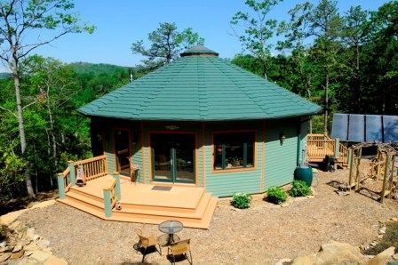 Practical Passive Solar Examples - Green HOmes - MOTHER EARTH NEWS