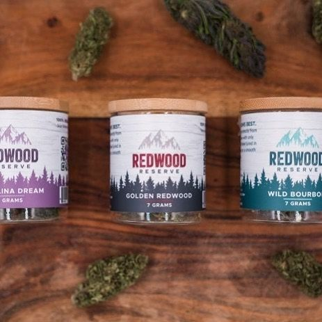 Family Owned Redwoodreserves In Portland Oregon Was Among The First Farms In The United States To Offer Hemp Flo Flower Packaging Flower Farmer Sun And Water