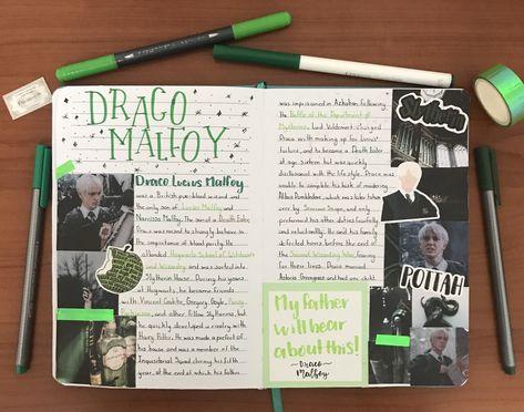 Draco Malfoy Journal
