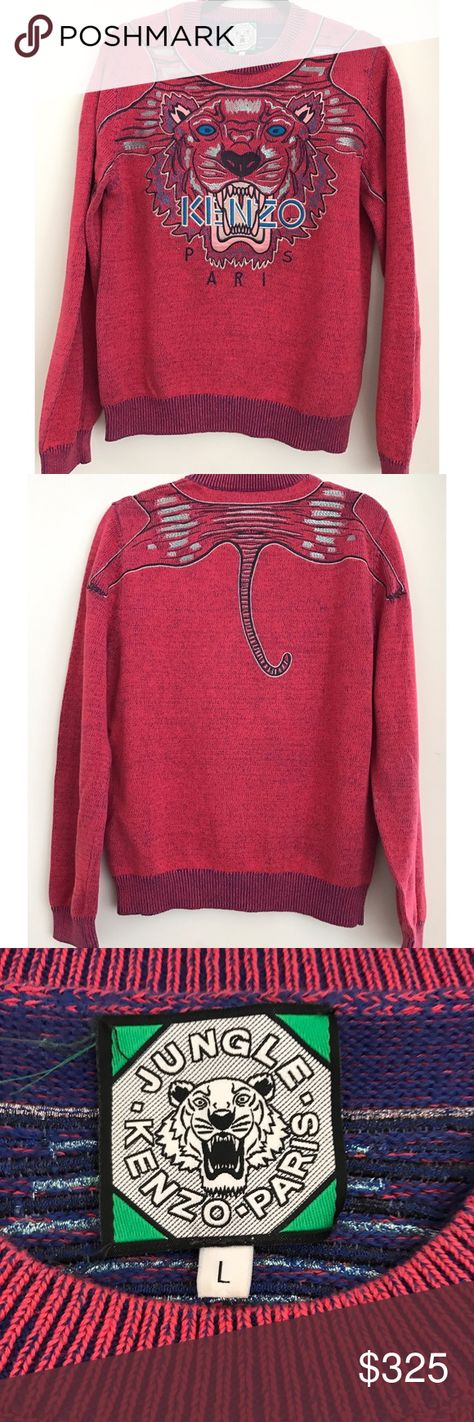 List of Pinterest kenzo tiger sweater pink images & kenzo