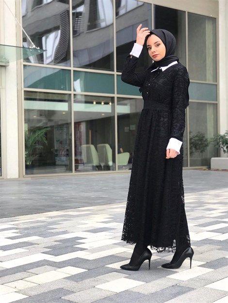Asia Dantel Elbise 36 38 40 42 Beden Secenekleri Ile Ve Siyah Renk Secenegi Ile Melike Tatar Da Kadin Giyim Dantel Elbise Giyim