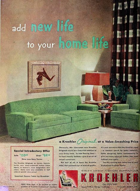 Ad for Ashley Furniture -