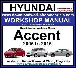 Hyundai Accent Workshop Repair Manual Download Hyundai Accent Repair Manuals Hyundai