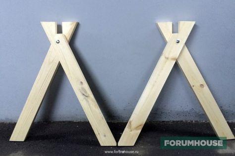 Процесс изготовления столярных козел своими руками - Дом и стройка - Статьи - FORUMHOUSE