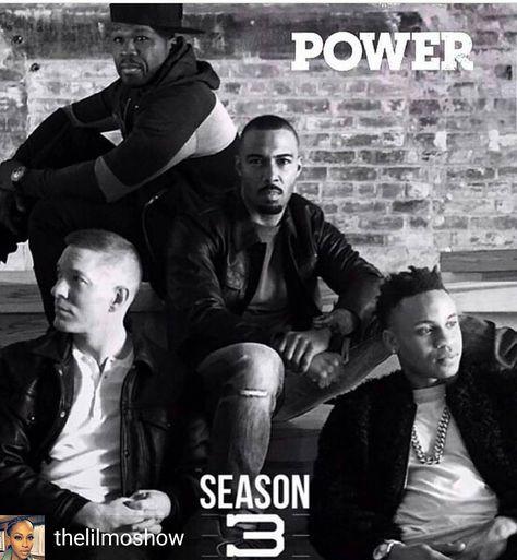 #TeamGhost @Regrann from @thelilmoshow -  We talking TEAMs!!! #power season 3 back this Sunday on starz. Who team you on? #teamkanan #teamghost #teamtommy #teamdre #Regrann #MMV