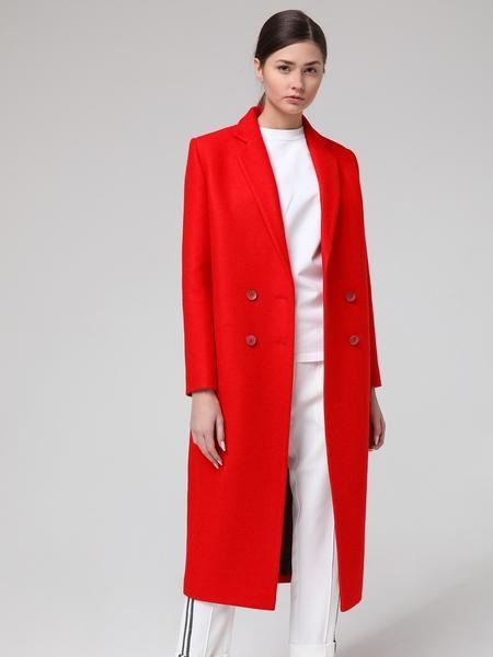 9a1b64c6dfca Купить Лапландия женское двубортное красное пальто Laplandia ...