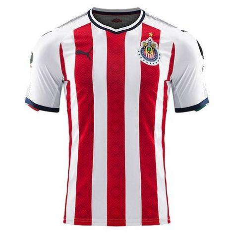 348a5c0cfd8 PUMA Men s Chivas De Guadalajara 17 18 Promo Home Jersey Red White