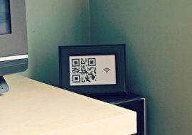 Share Your Wi-Fi Password With Guests With a Framed QR Code — Tixeretne
