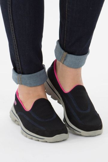 Skechers GOWalk 3 Ladies Walking Shoes Blue | Start Fitness