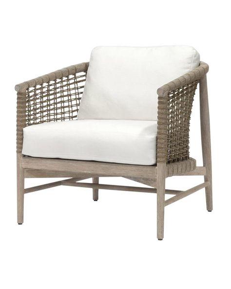 Awe Inspiring Belham Living Wicklow Rope Weave Outdoor Deep Seating Chair Bralicious Painted Fabric Chair Ideas Braliciousco