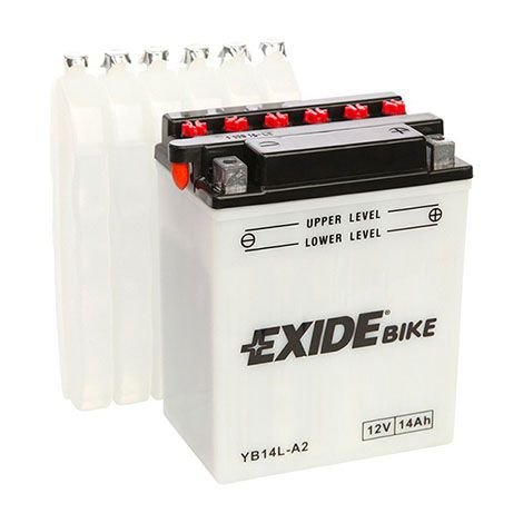 14Ah Exide YB14L-A2 batterie de moto