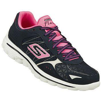 badfe504d3203f Skechers Women s Go Walk 2 Flash Walking Shoe - Pink-Lime