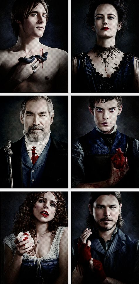 Penny Dreadful! I don't want to wait for season 2!