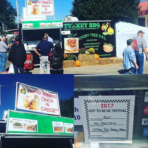 What A Foodtruck At The Ncstatefair Awesome Its Hickorytreebbq Hickorytree Bbq Rocking By The Main Gate Turkey Corndogs Fr Bbq Food Truck Corn Dogs