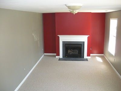 Inspiration for Creating an Accent Wall | Red accents, Walls and ...