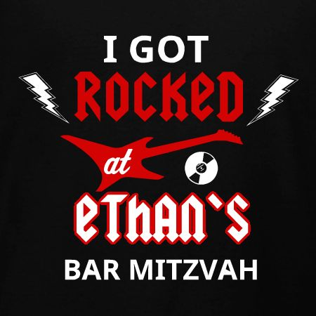 rock and roll bar mitzvah t shirt design idea and template personalize for your - T Shirt Logo Design Ideas