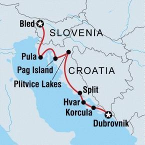 Visit Croatia And Slovenia As You Take The Scenic Route From Lively Dubrovnik To Pristine Bled Experience Both History Croatia Croatia Travel Slovenia Travel