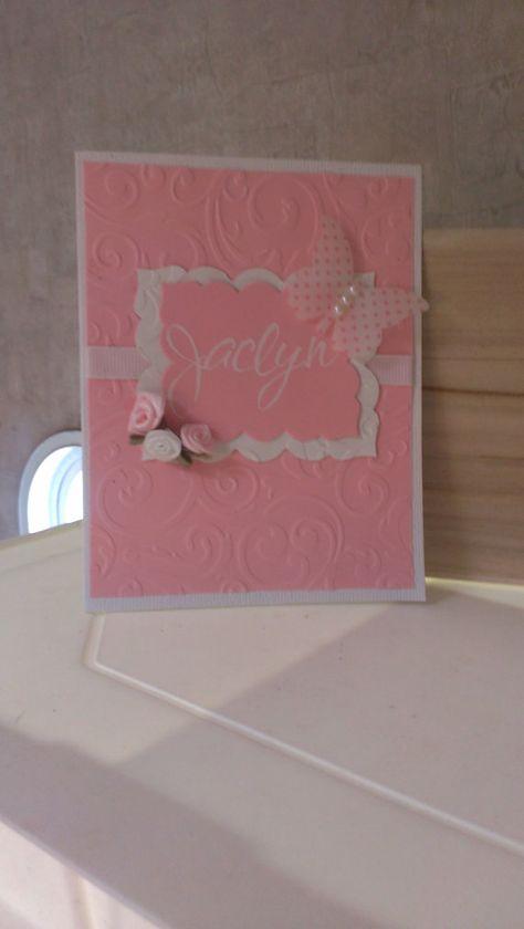 Jaclyn Communion  Cards Handmade Cards by jennrainescreations