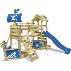 Maximo Spielturm Baumhaus Stelzenhaus Schaukel Kletterturm Rutsche Holz Play Houses Backyard Playground Backyard For Kids