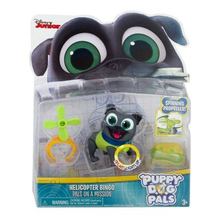 Puppy Dog Pals Light Up Pals On A Mission Bingo With Helicopter And Helmet Walmart Com Dogs And Puppies Toy Puppies Ukulele Design