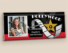 Hollywood Themed Candy Wrappers