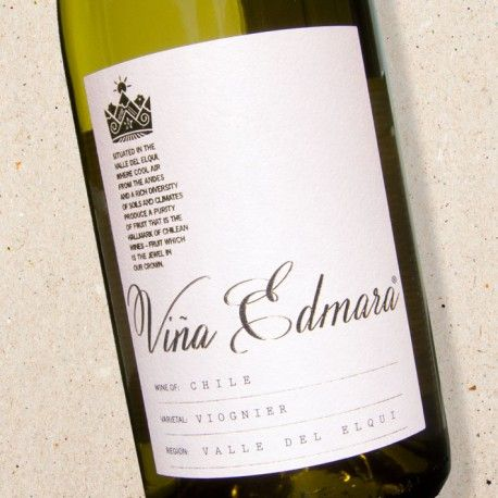 Vina Edmara Viognier 2015 Valle Central | £7.19 per bottle | Made from hand-picked grapes and aged on its lees for increased complexity