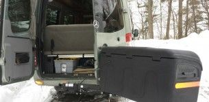 My New Stowaway Cargo Carrier For Our Rv Class B Rv Class B Rv