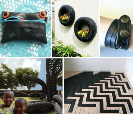 25 Rad Items Made From Reclaimed Recycled Tires Tyres Recycle