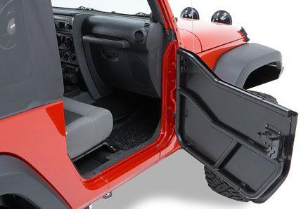 51792 01 Bestop Highrock 4x4 Element Front Doors Enclosure Kit Jeep Wrangler Tj 1997 2002 Proyectos