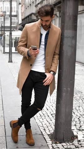 Men's Skinny Jeans Super Spray on Lightweight Cotton Ankle Tight Fit R – myshoponline.com