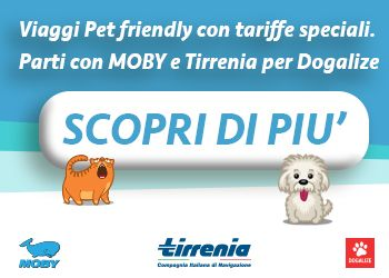 Viaggi Pet Friendly Offerte Moby E Tirrenia Per Come Eliminare