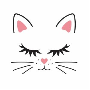 Cat Face Download All Types Of Vector Art Stock Images Vectors Graphic Online Today Wide Range Of Vector Art Mega Coll In 2021 Cat Face Cat Logo Design Cute Cat Face