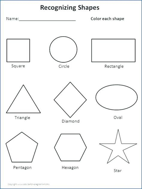 Free Printable For Toddlers Worksheet Toddler Learning