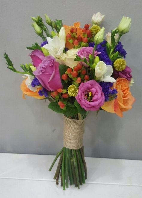 Ramo De Novia Multicolor Ramodenovia Bridalbouquet Rosas Roses