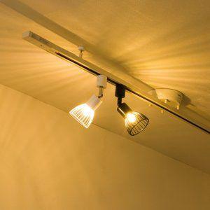 ダクトレール用スポットライト Led照明器具 E17口金 ライティング