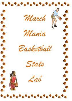 March Mania Basketball Statistics   Problem Solving (Math Labs