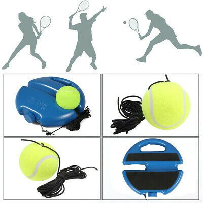 Primary Tennis Trainer Single Tennis Practice Self Study In 2020 Ball Exercises Rebounding Tennis Trainer