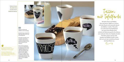 Koffein Kaffeetasse für Chemiker - eine kleine Geschenkidee für die Chemiker im Freundeskreis - Kaffeetasse mit Koffeinmolekül. DIY Tutorial mit Porzellan